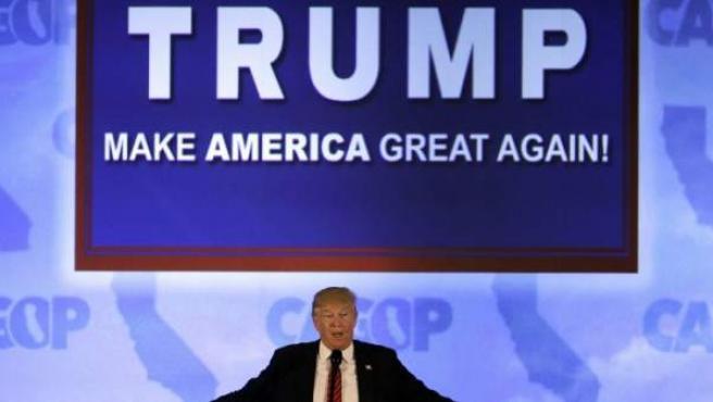 Donald Trump Candidato Republicano A La Presidencia De Los