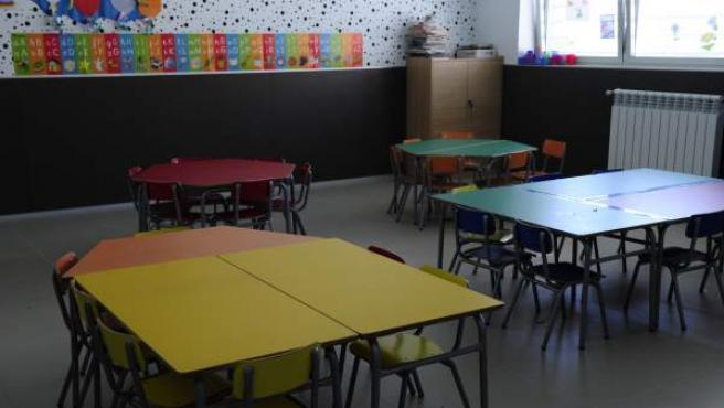 Un aula de educación primaria.