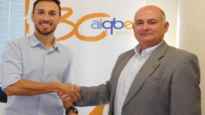 Acuerdo entre Aiqbe y el Bádminton IES La Orden