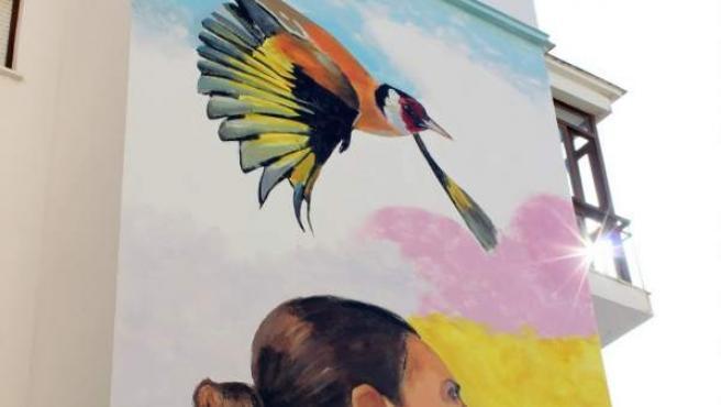 Mural artístico en Estepona