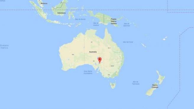 La sierra de Flinders en Australia, lugar donde se ha encontrado el asentamiento humano más antiguo de la isla.