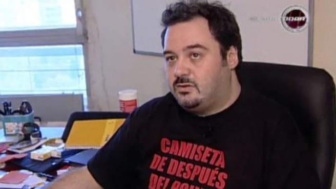 El actor y productor porno Torbe.