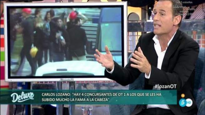 Carlos Lozano, enfadado porque no participó en 'OT: el reencuentro'.