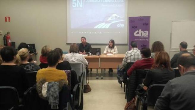 Primera Jornada Feminista CHA.