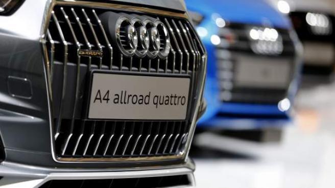 Varios vehículos de la marca Audi.