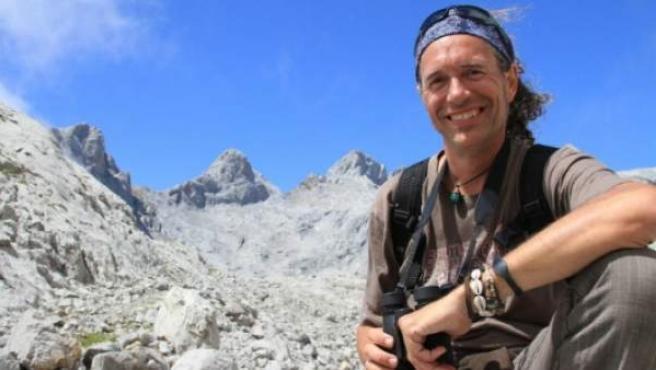 El geógrafo, naturalista, escritor y periodista César Javier Palacios.