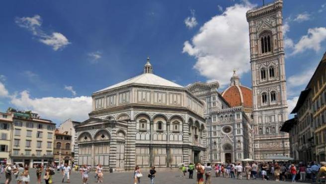 La Plaza del Duomo de Florencia.