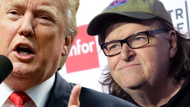 """Michael Moore sobre Donald Trump: """"Él no quería ser presidente"""""""