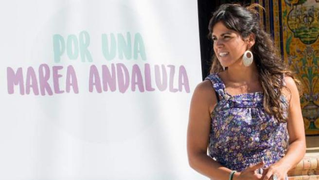 Teresa Rodríguez, la líder andaluza de Podemos.