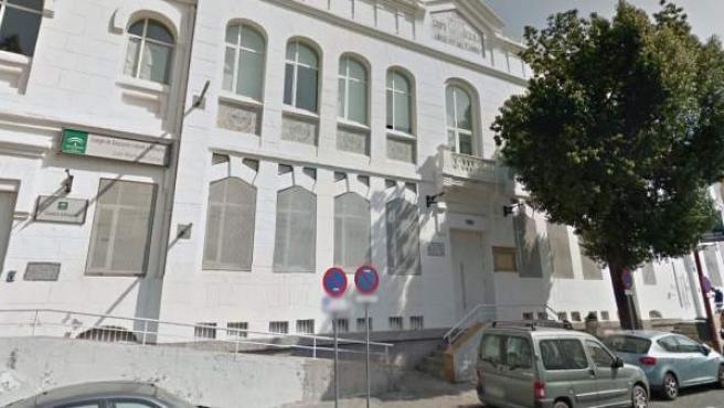 Imagen de la fachada del colegio José María del Campo de Sevilla.