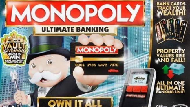 Imagen de la caja del Monopoly Electronic Banking, nueva versión del popular juego de mesa.