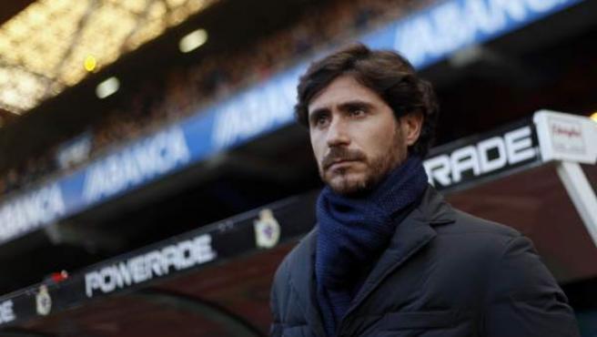 Una imagen de Víctor Sánchez del Amo, en su etapa como entrenador del Deportivo de La Coruña.