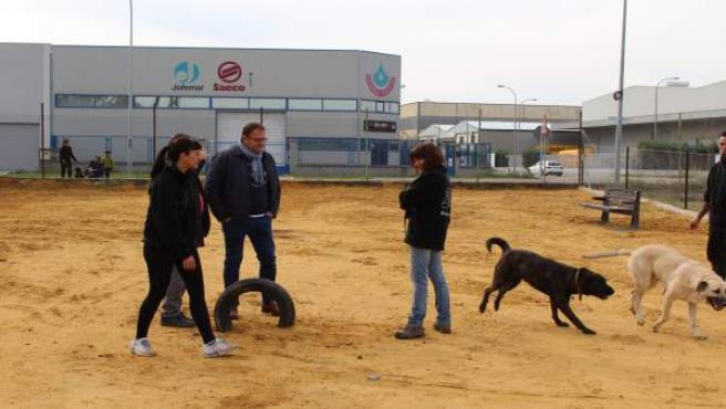 Nueva zona para perros en Mérida