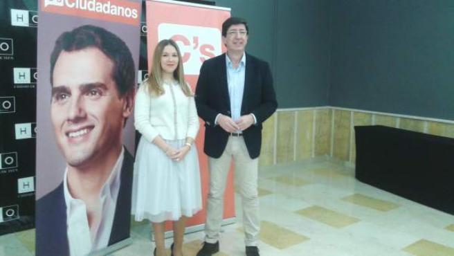 Raquel Morales y Juan Marín