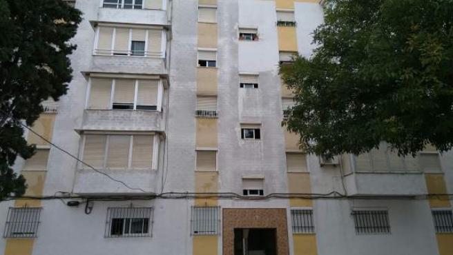 Edificio desalojado en Jerez de la Frontera