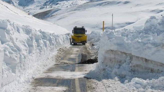 El Gobierno de Aragón ya tiene preparado el dispositivo de vialidad invernal.
