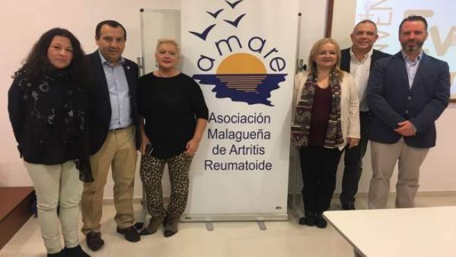 Ruiz Espejo en las jornadas sobre artritis reumatoide