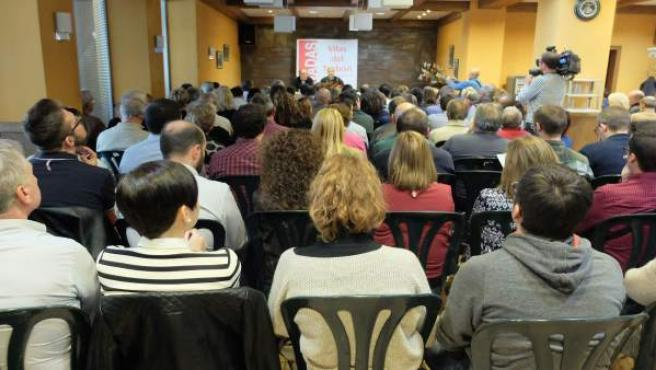 Encuentro del PSOE en Huesca