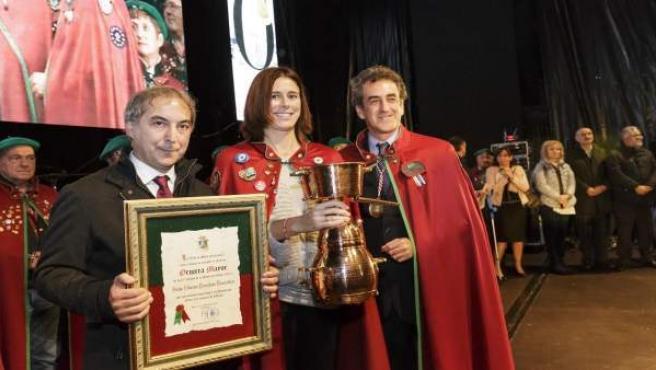 Edurne Pasaban, 'Orujera Mayor'