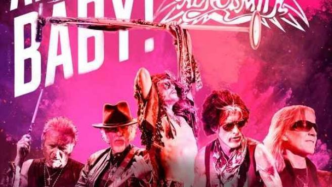 Cartel de la gira de Aerosmith.