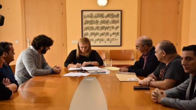 Mula firma un convenio de colaboración para el proyecto Fuengirola sin gluten