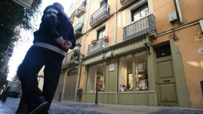 Imagen del número 18 de la calle de Santga Anna de Reus, donde murió la anciana.