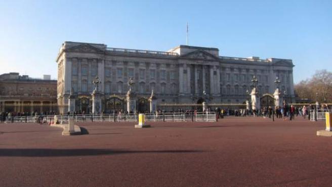 Imagen del palacio de Buckingham.
