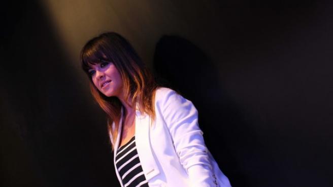 La cantante malagueña Vanesa Martín durante la entrevista para 20minutos.