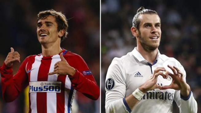 Antoine Griezmann y Gareth Bale.