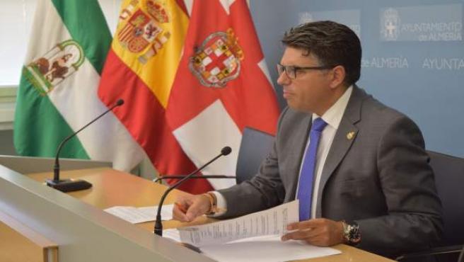 Miguel Cazorla, portavoz municipal de Ciudadanos en Almería