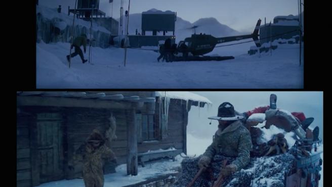 Vídeo del día: ¿Son 'La cosa' y 'Los odiosos ocho' la misma película?