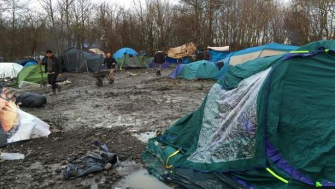 Campo de refugiados de la jungla, Calais
