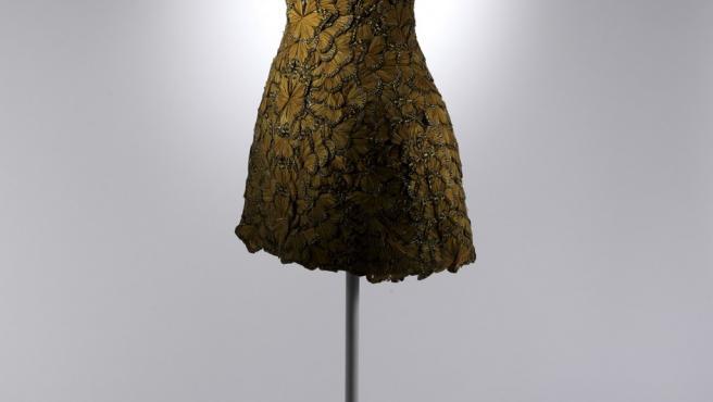 Vestido diseñado por Sarah Burton para Alexander McQueen en 2011