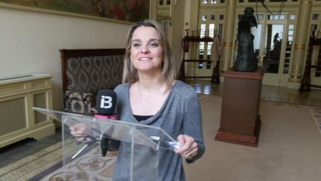 La portavoz del PP, Marga Prohens