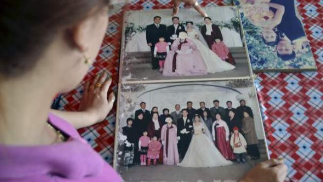 Mujer vietnamita recordando su matrimonio fallido.