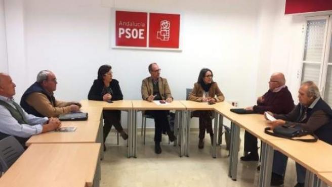 Reunión del PSOE con colectivos de emigrantes retornados