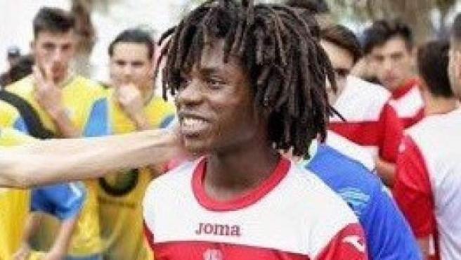 Étienne, el futbolista insultado.