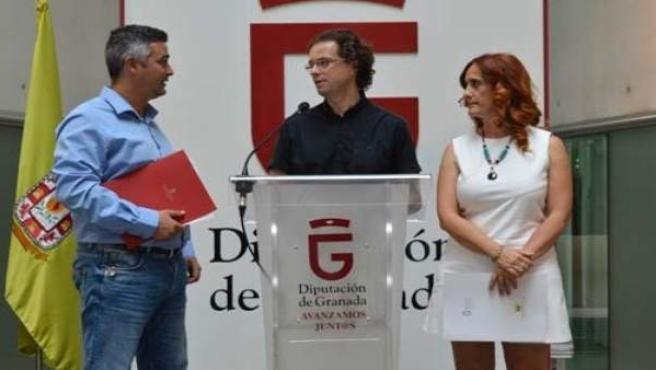 La diputada provincial de IU en Granada Carmen Capilla