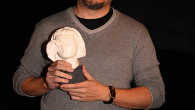 Tonio L. Alarcón recoge el Premio Miradas