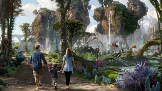 Disney enseña imágenes del parque temático de 'Avatar'