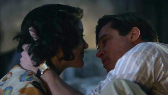 Brad Pitt y Marion Cotillard en 'Aliados'.