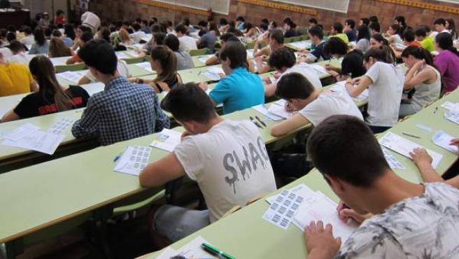 Examenes de Selectividad en la Universidad de Zaragoza.