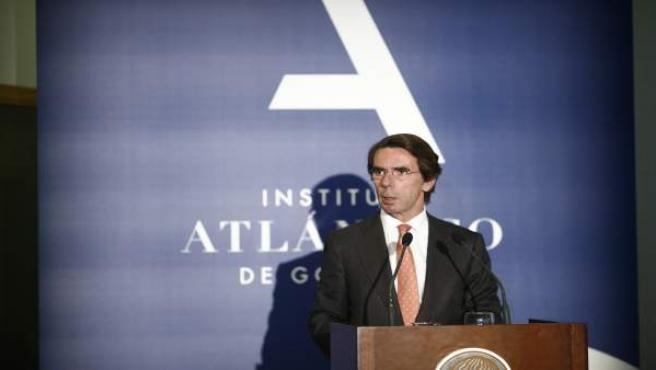 José María Aznar inaugura el curso académico 2016-2017 del Instituto Atlántico
