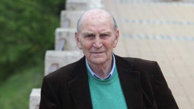 El poeta comunista Fernando Macarro Castillo, conocido como Marcos Ana, fotografiado en 2010.