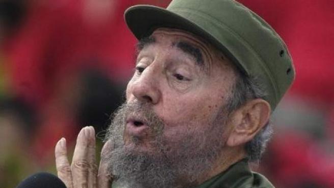 Fidel Castro en una imagen de archivo.