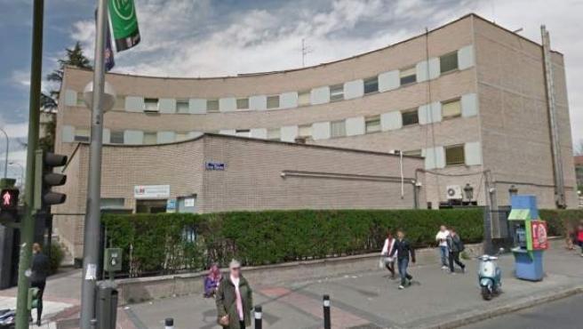 Imagen del exterior del hospital Gregorio Marañón de Madrid.