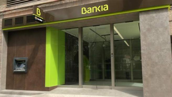 Una sucursal de Bankia.