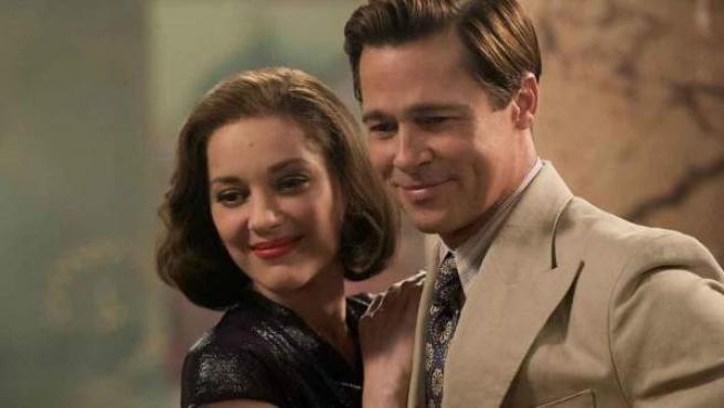 Marion Cotillard y Brad Pitt protagonizan 'Aliados'