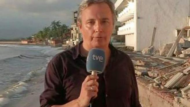 Vicent Sanclemente, corresponsal de TVE.