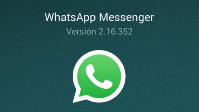 Según la versión de WhatsApp que tengas dispondrás de unas u otras novedades.